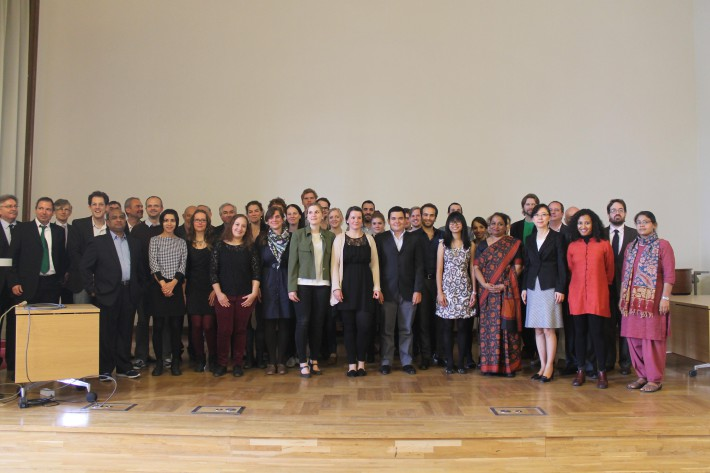 Grand inauguration of the Global Studies Programme at Humboldt University, Berlin.